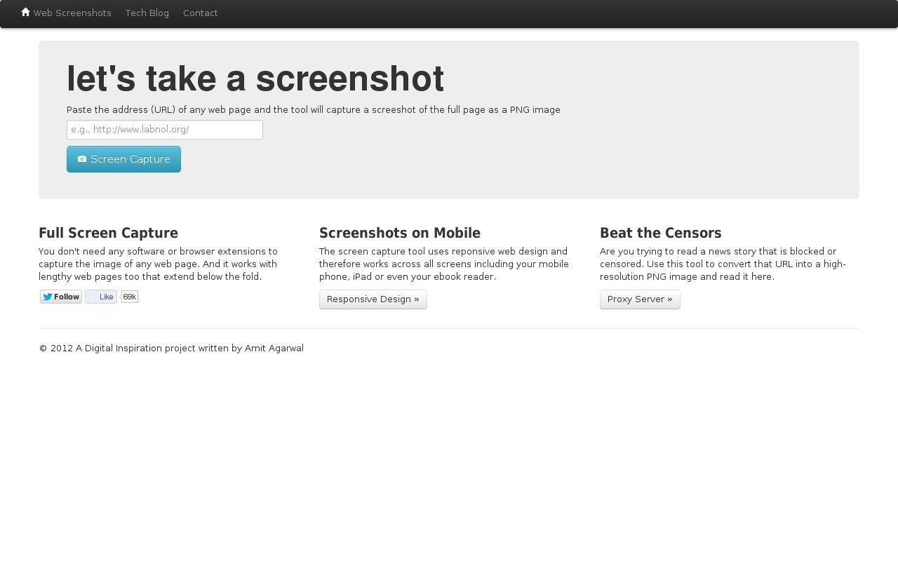 Cómo hacer una captura de pantalla de una web