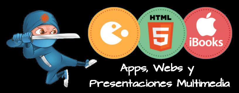 Apps, Webs, Presentaciones multimedia, iBooks y mucho más