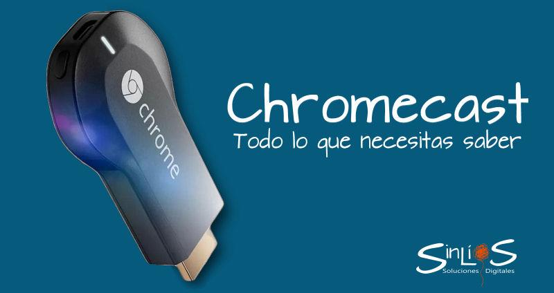 Como utilizar Chromecast de Google