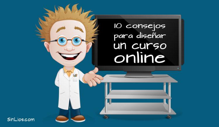 10 consejos para diseñar un curso online