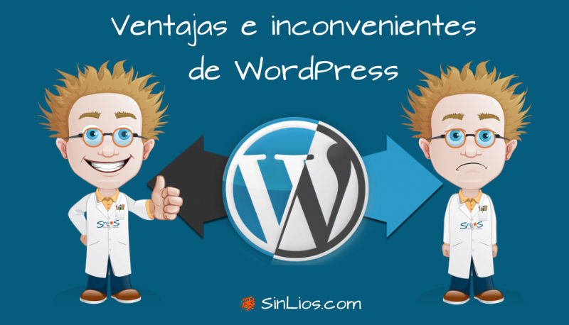 Pros y contras de WordPress