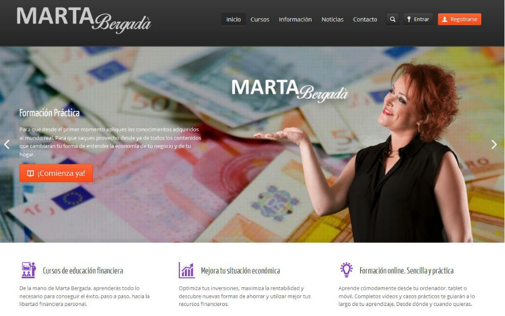 Aula Virtual para Marta Bergada
