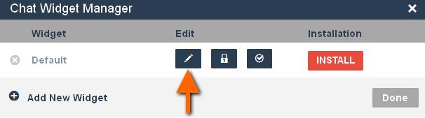 editar chat widget purechat