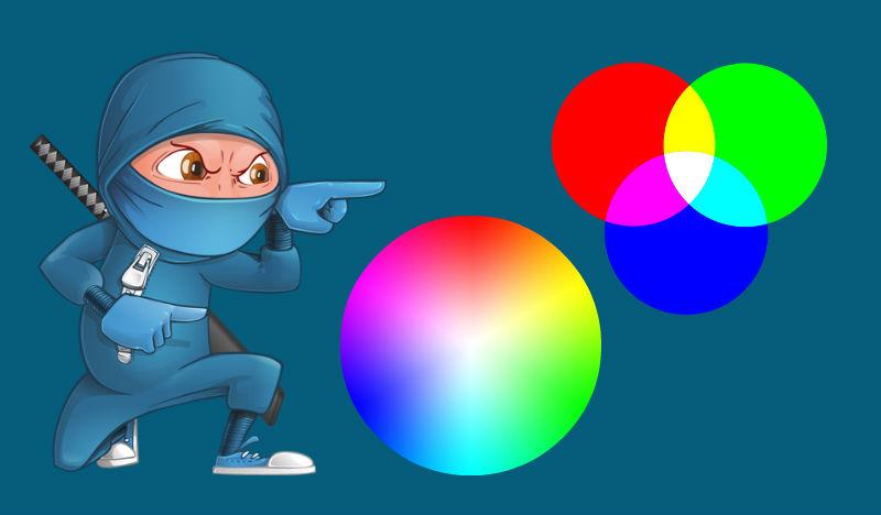 Los colores en RGB y CMYK