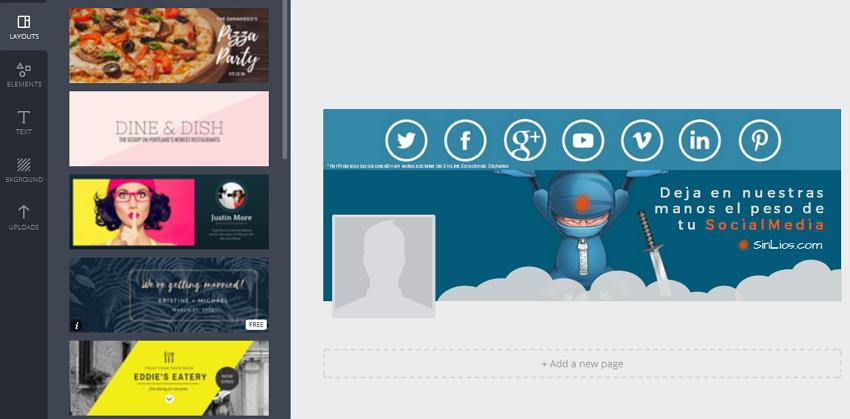 Crea diseños perfectos para redes sociales con Canva