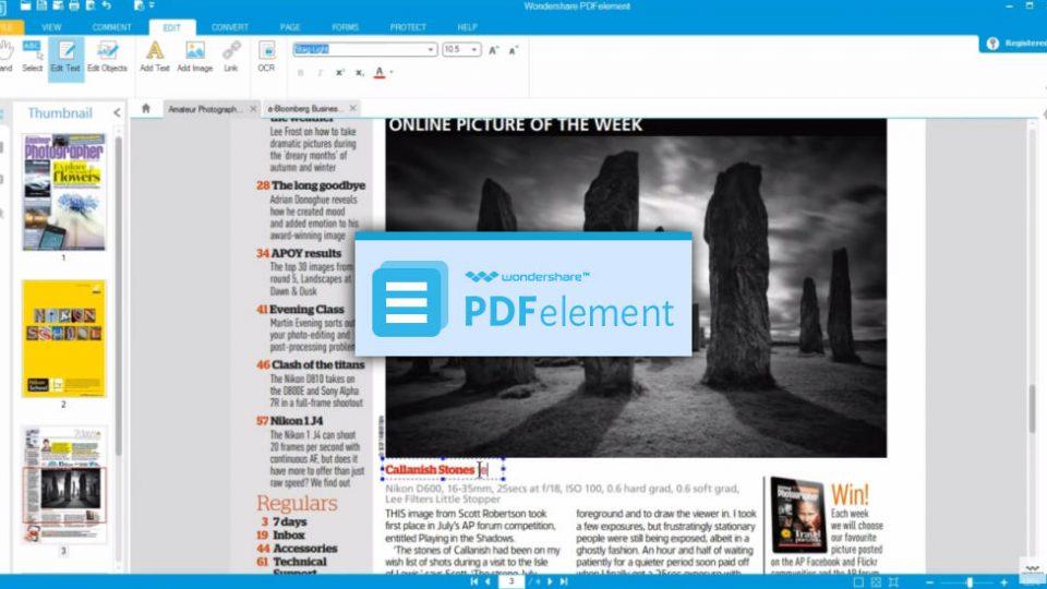 Editar documentos PDF fácilmente