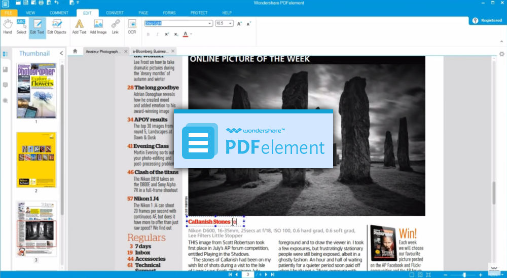 editar pdf facilmente con PDFelement