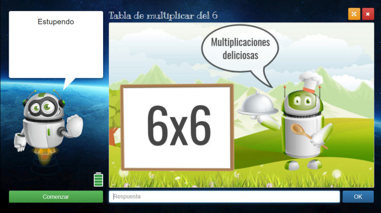 Aprender jugando las tablas de multiplicar